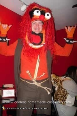 Homemade DIY Animal Halloween Costume