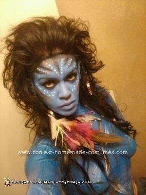 Homemade DIY Avatar Halloween Costume Idea