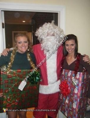 Homemade DIY Christmas Gift Box Costume Ideas