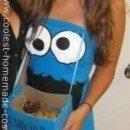 Homemade DIY Cookie Monster Halloween Costume