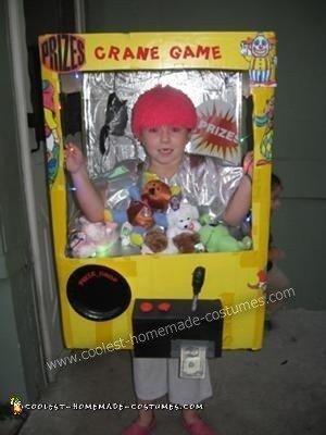 DIY Crane Game Halloween Costume