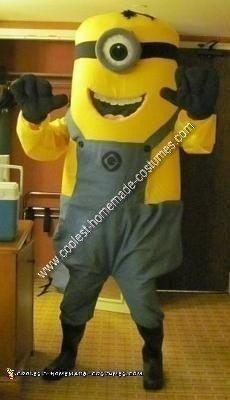 DIY Despicable Me Minon Halloween Costume
