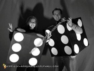 DIY Dice Couple Halloween Costume Idea