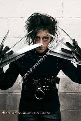 CL601 Edward Scissorhands Miss Scissorhands Fancy Dress Halloween Movie Costume