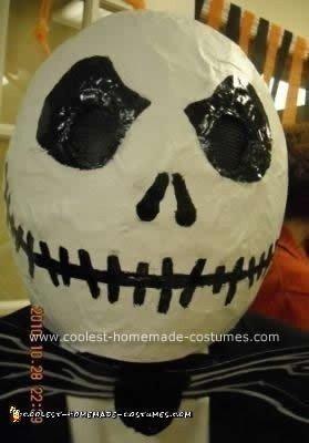 Homemade DIY Jack Skellington Halloween Costume