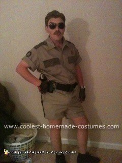 Homemade DIY Lt. Dangle Halloween Costume