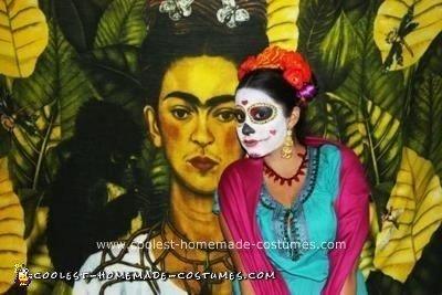 Homemade DIY Mexican Sugar Skull Dia de los Muertos Inspired Group Halloween Costume ...
