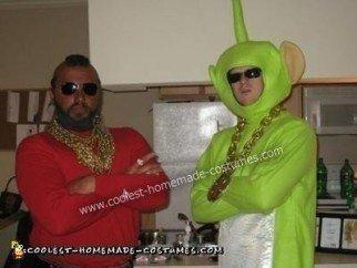 DIY Mr. T Halloween Costume