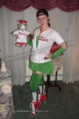 DIY Phoxy Philly Phanatic Adult Halloween Costume