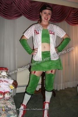 DIY Phoxy Philly Phanatic Adult Halloween Costume