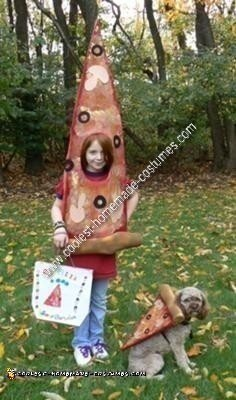 DIY Pizza Halloween Costume Idea