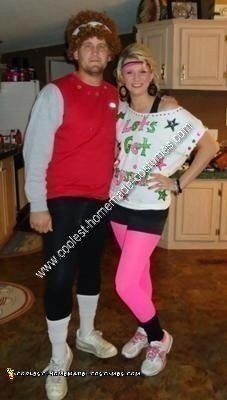 DIY Richard Simmons and Olivia Newton John Couple Halloween Costumes