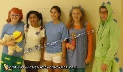 diy rugrats group halloween costume tommy chuckie angelica and susie hit high school and who do they meet there only their favorite reptile reptar
