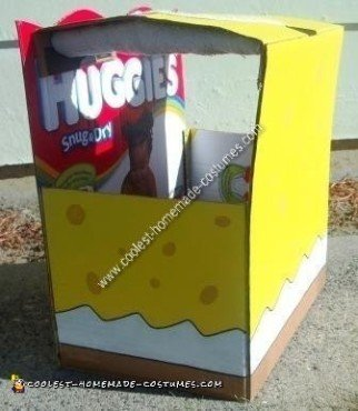 Homemade DIY Spongebob Halloween Costume Idea