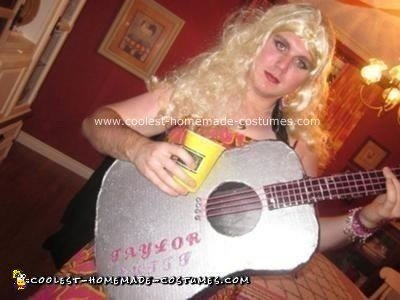 Homemade DIY Taylor Swift Costume