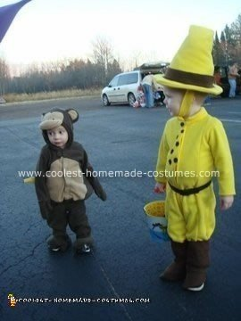 Coolest Diy Quot The Man With The Yellow Hat Quot From Curious George Halloween Costume 6