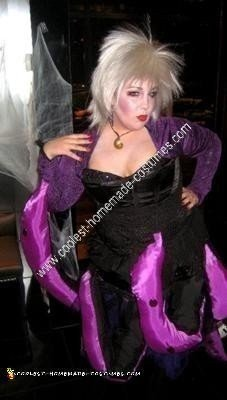 DIY Ursula from The Little Mermaid Halloween Costume Idea