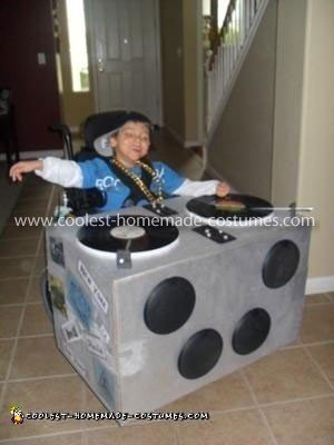 Coolest DJ Wheelchair Costume 7