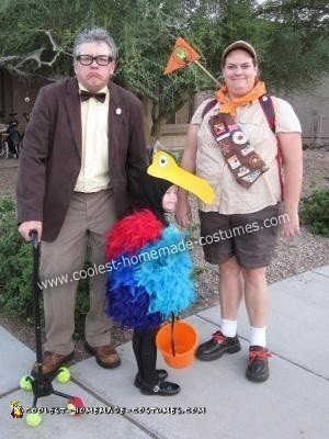 Do it Yourself UP Group Halloween Costume