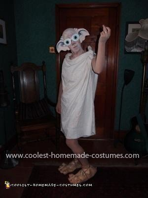 Homemade Dobby the House Elf from Harry Potter Costume