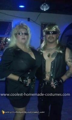 Homemade Dog and Beth Chapman Costumes