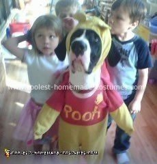 Dog Pooh Costume