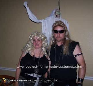 Homemade  Dog the Bounty Hunter and Beth Chapman Couple Costume