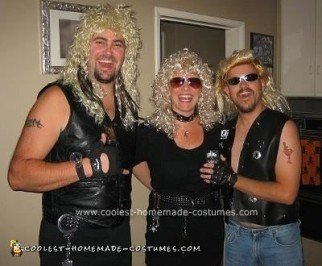 Homemade Dog the Bounty Hunter and Beth Costume