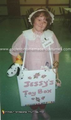 Doll in Box Costume