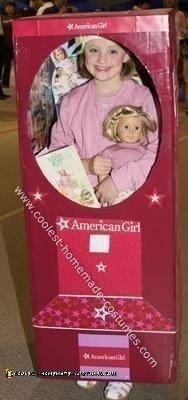 American Girl Doll Kit Kittredge in the AG Box