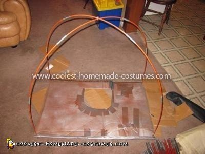 Homemade Dome Tent Costume