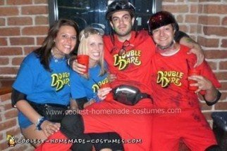 Double Dare Group Costume