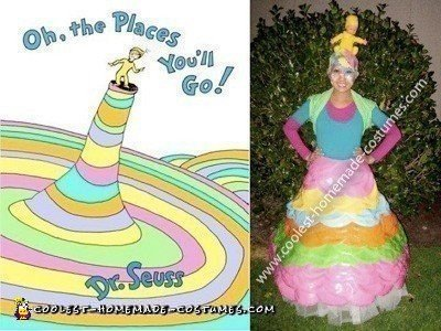 "Coolest Dr. Seuss' ""Oh, the Places You'll Go!"" Costume"