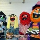 Coolest Dr. Teeth and the Electric Mayhem Band Group Costume