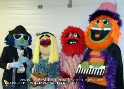 coolest dr teeth and the electric mayhem band group costume