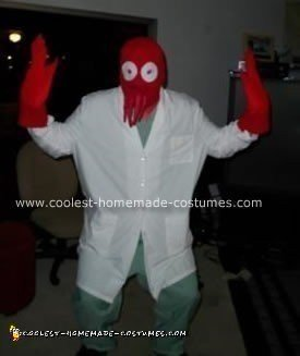 Homemade Dr. Zoidburg from Futurama Costume