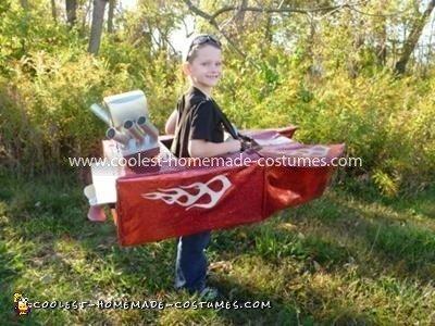 Coolest Drag Boat Racing Costume