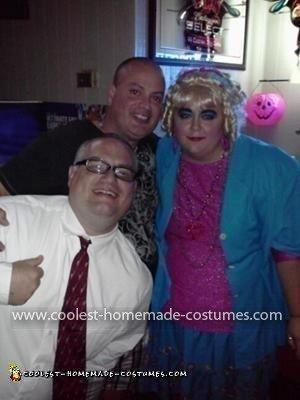 Homemade Drew Carey and Mimi Couple Costume