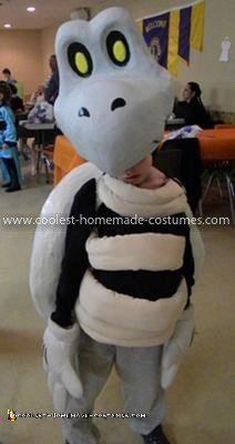 Homemade Dry Bones Costume