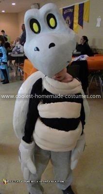 Homemade Dry Bones Costume