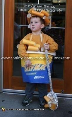 Homemade Easy Mac N Cheese Costume