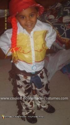 Homemade Easy to Make Jessie from Toy Story Costume