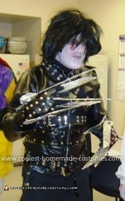 Coolest Edward Scissorhands Costume 20