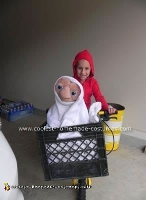 Homemade Elliott Costume from E.T the Movie