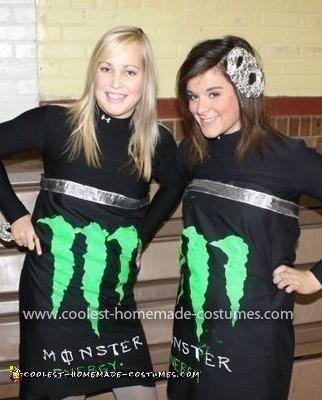 Homemade Energy Drink Costume