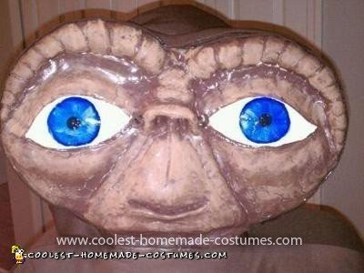 Homemade E.T. and Elliot Couple Costume