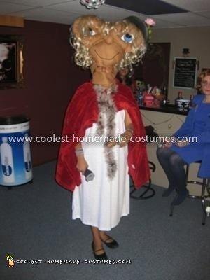 Homemade ET Costume