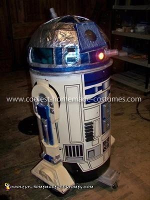 Driving R2D2 Halloween Costume