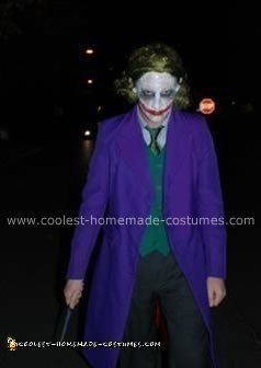 Homemade Evil Joker Costume