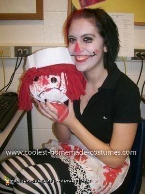 Homemade Evil Raggedy Ann Costume